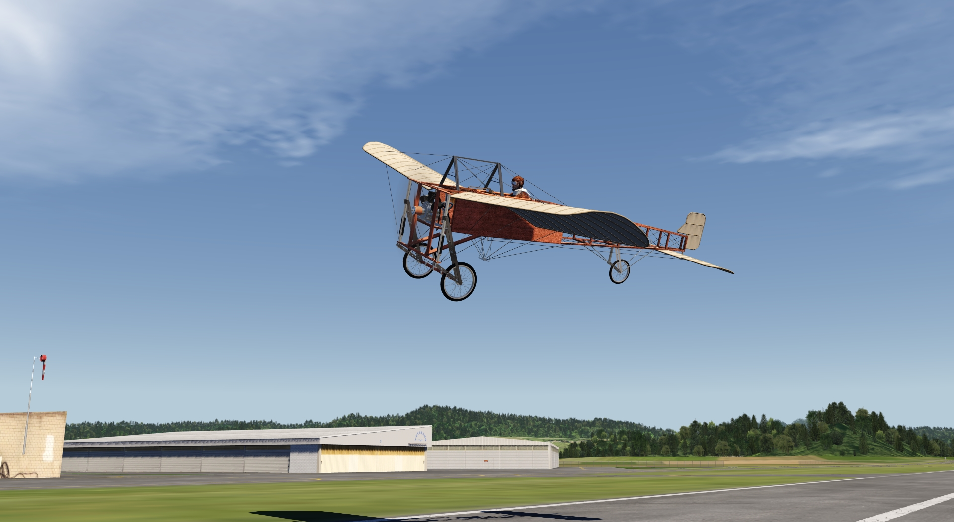 Bleriot XI for aerofly FS