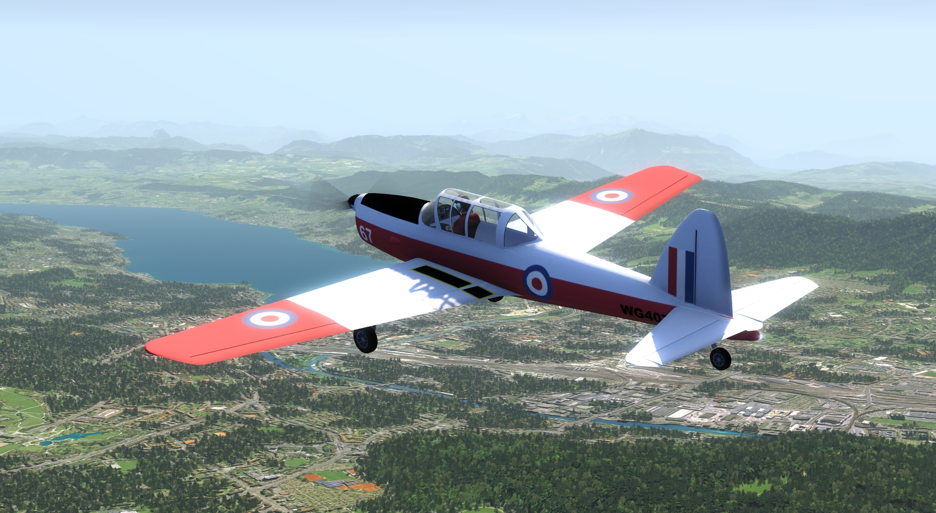 De Havilland DHC-1 Chipmunk for aerofly FS