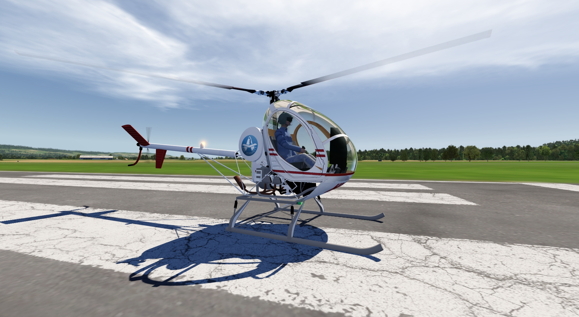 Hughes 300 Helicopter for aerofly FS