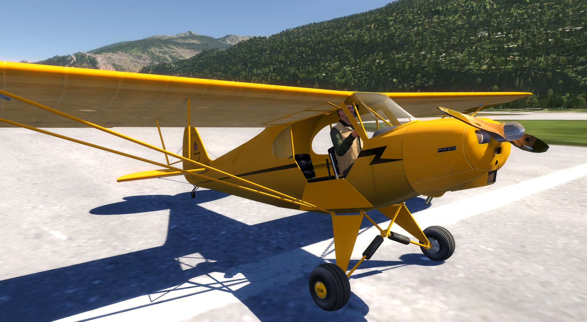 Piper PA-11 Cub Special for aerofly FS
