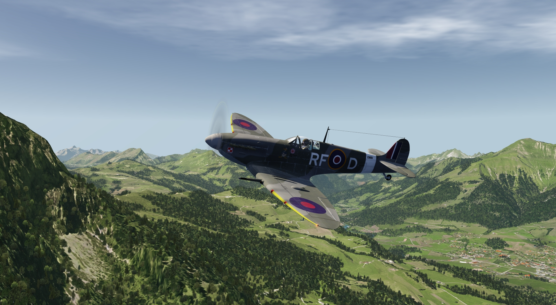Supermarine Spitfire Mk. Vb for aerofly FS