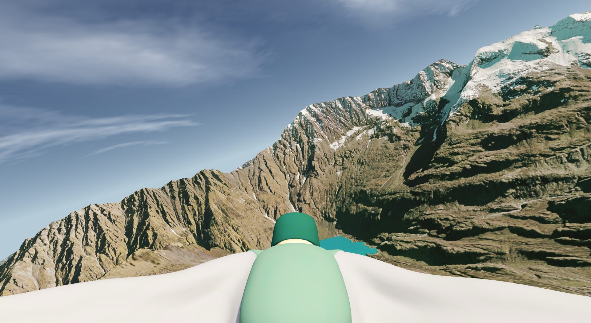 Wingsuit for aerofly FS