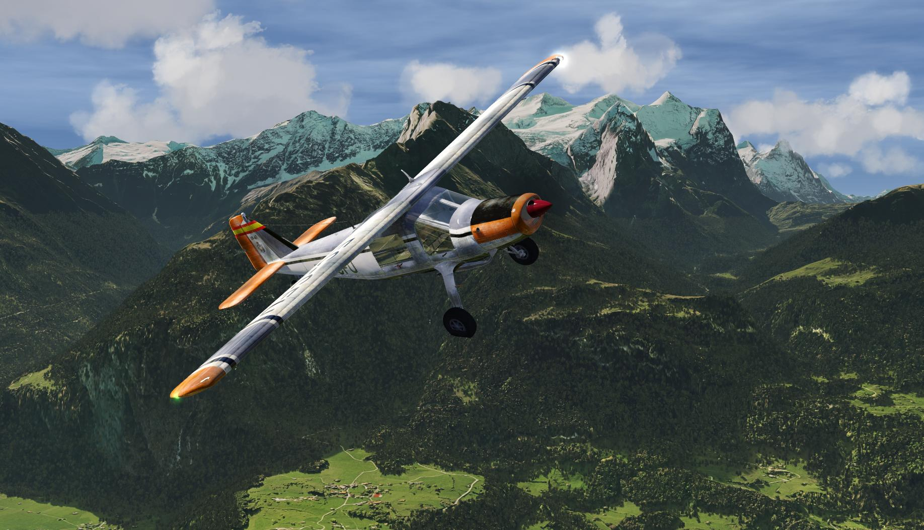 Dornier Do 27 in Switzerland DLC