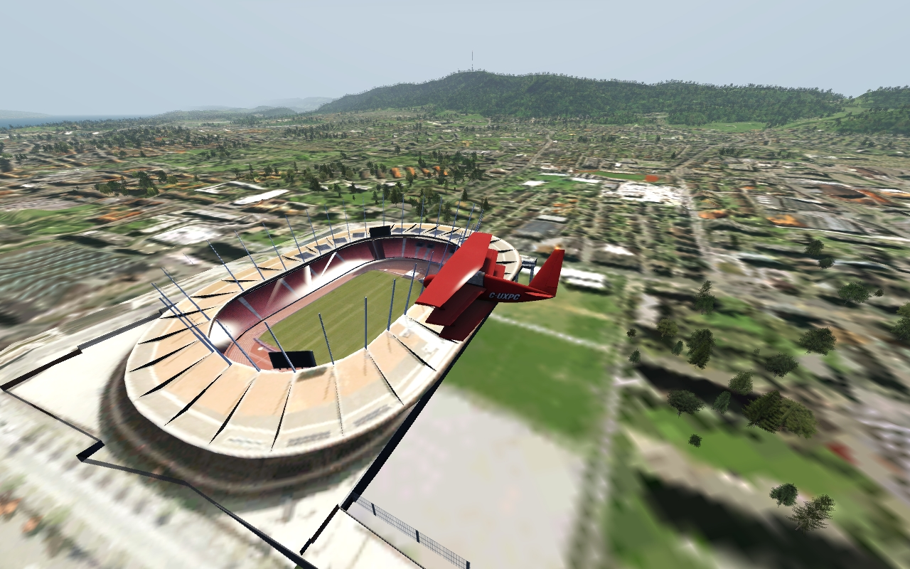 aerofly FS Scenery Add-On Swiss Stadiums