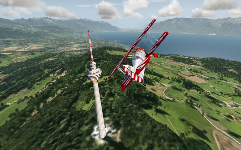 aerofly FS scenery Add-On VFR obstacles